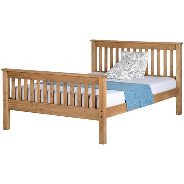 Kj High Foot End Bed In Pine 5 K Amp J Group
