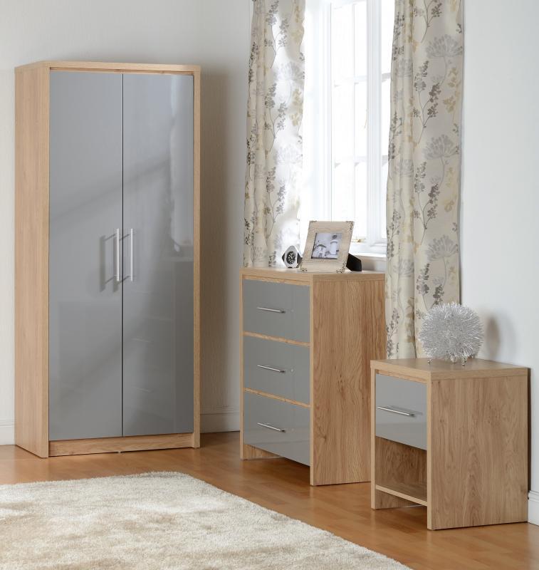 Prime Art Nouveau Gloss Bedroom Set In Grey Kj Group Download Free Architecture Designs Osuribritishbridgeorg